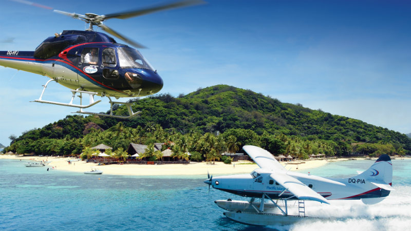Combo (Helicopter + Seaplane)