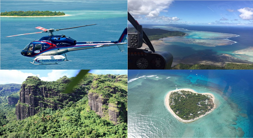 Helicopter Scenic Flight - A Taste Of Fiji